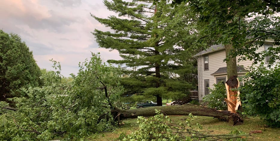 Jefferson County tornado reports; EF1, EF0 confirmed by NWS
