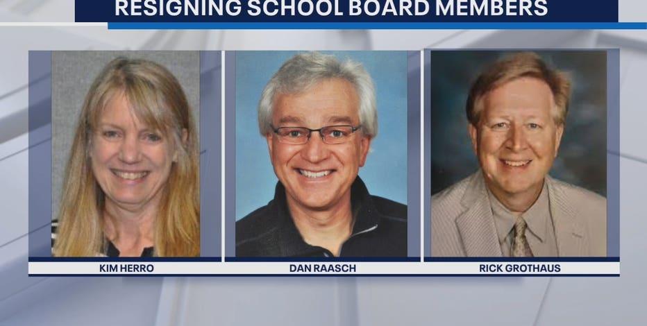 3 Oconomowoc school board members resign, major decisions ahead