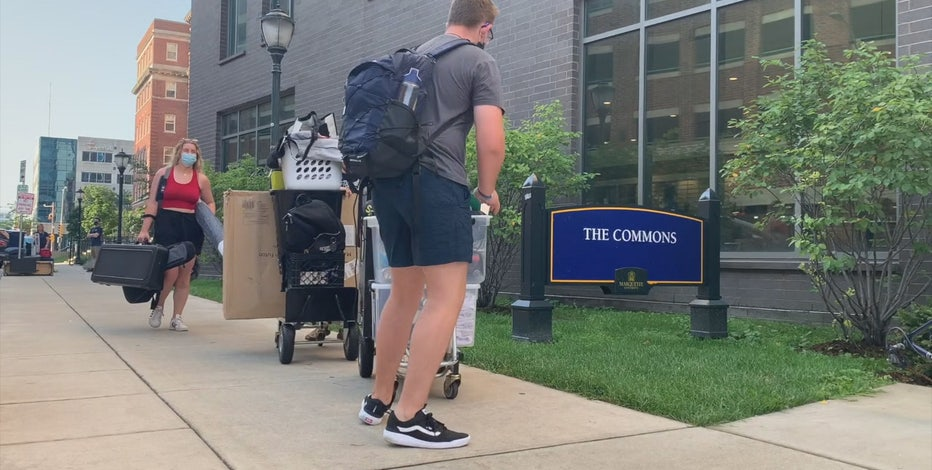 Marquette University welcomes students on move-in day