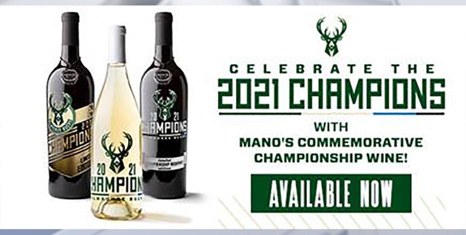 Milwaukee Bucks championship commemorative wine released
