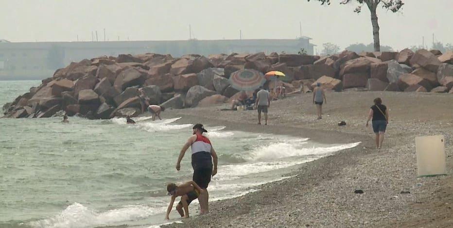 Kenosha County water warnings, 2 rescued amid heavy rain