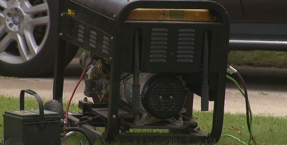 Generator, carbon monoxide safety reminders amid power outages