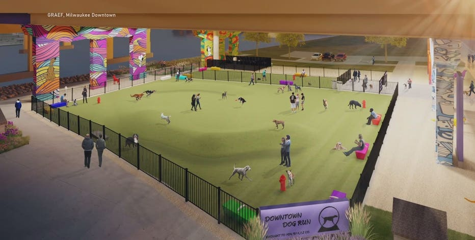 Proposed downtown Milwaukee Dog Park wins $25K grant