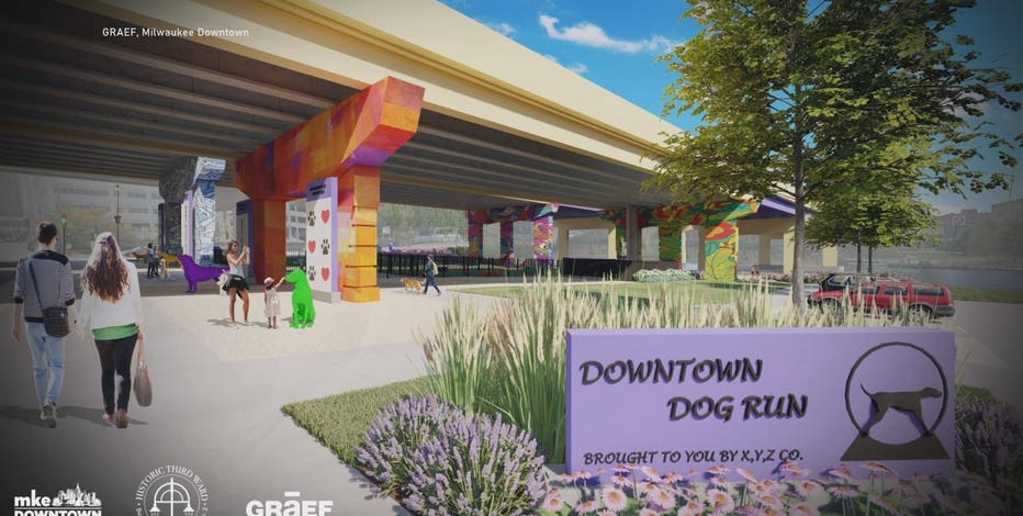 Downtown Milwaukee dog park: Fundraising campaign begins