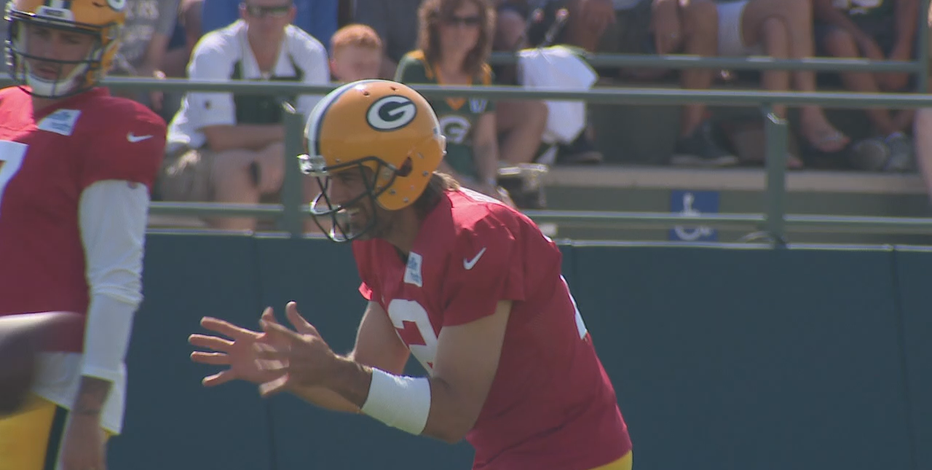 Rodgers, Packers hold joint practices with Jets