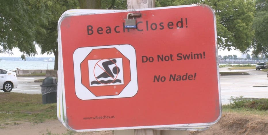 Milwaukee sewage overflow, beaches closed