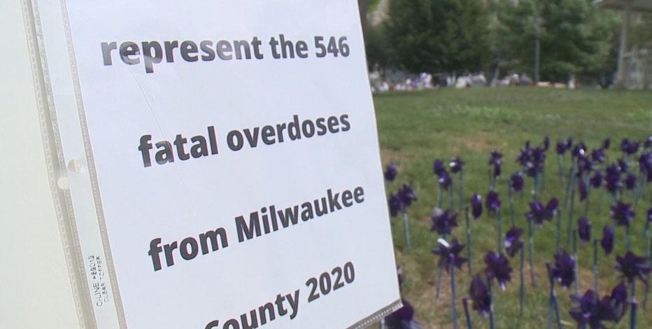 Overdose awareness: Milwaukee memorial held amid rise