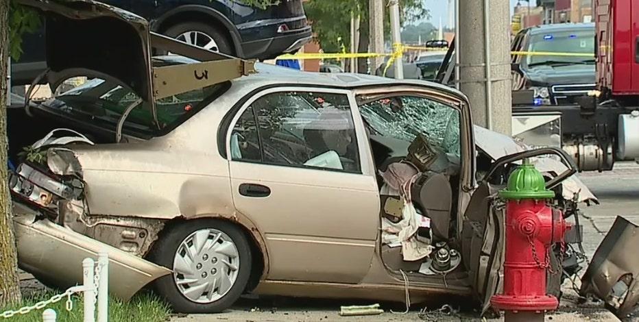 Milwaukee pursuit, crash: Teens arrested, 3 injured