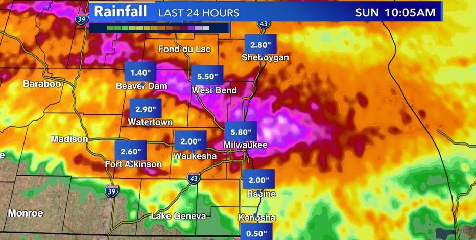 Biggest rain in years, flash flooding overnight