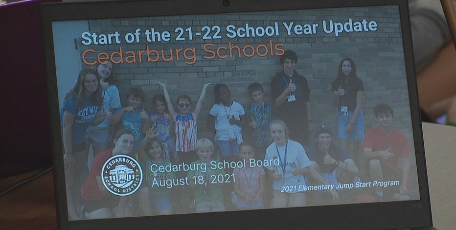 Cedarburg parents push school mask requirement, board meets