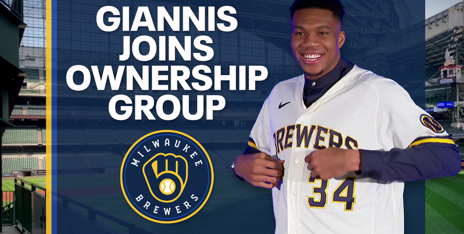Giannis becomes Brewers part-owner