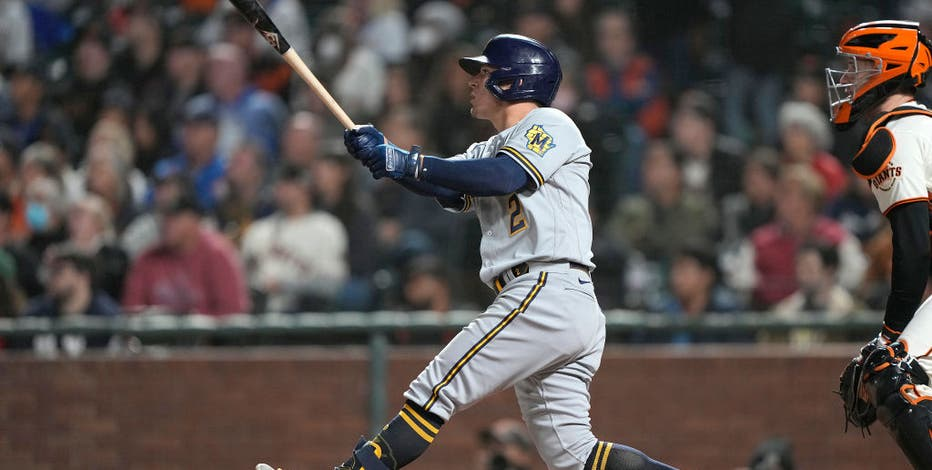 Burnes pitches Brewers by Giants in matchup of NL contenders