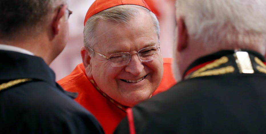 Wisconsin-born Cardinal has COVID, breathing with ventilator