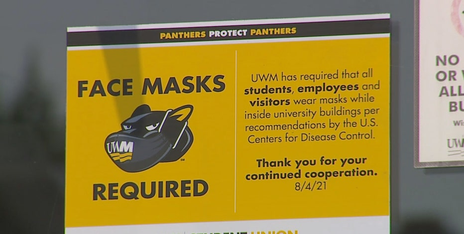 UWM mask mandate reinstated, but UW System questions remain