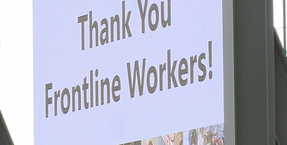 Frontline workers at Irish Fest, ceremony honors COVID heroes