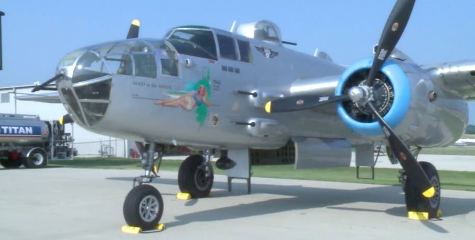 WWII aircraft at Waukesha County Airport