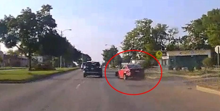 Glendale police chase: 14-year-old driver arrested after crash