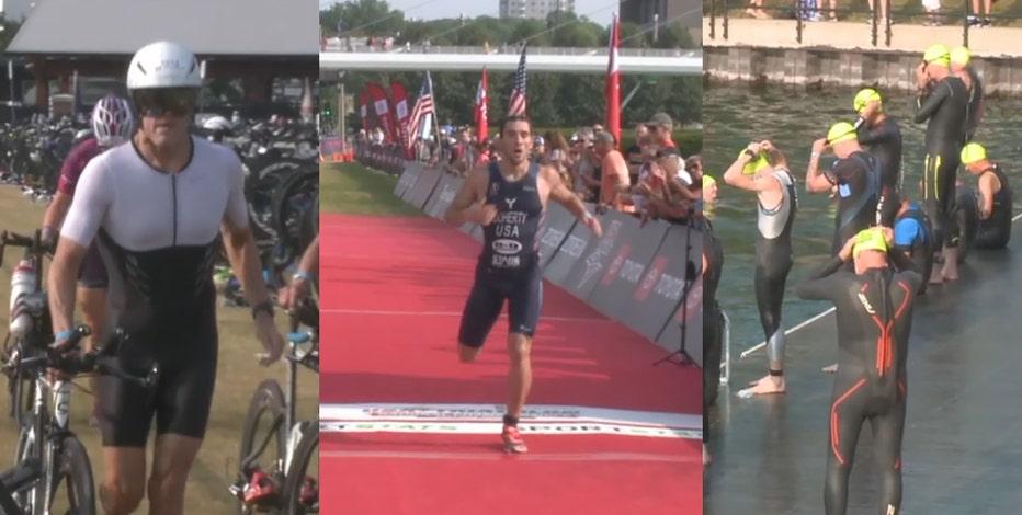 USA Triathlon: Milwaukee's lakefront hosts 6K athletes