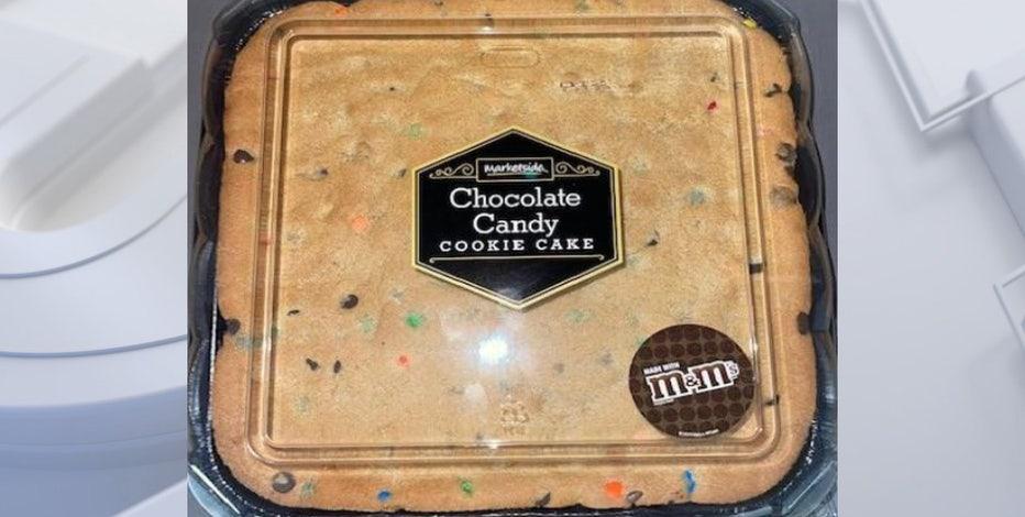 Cookie cake sold at Walmart recalled over allergy concerns
