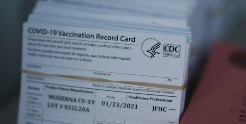 COVID vaccination status: WI Senate OKs bill sealing any mailings