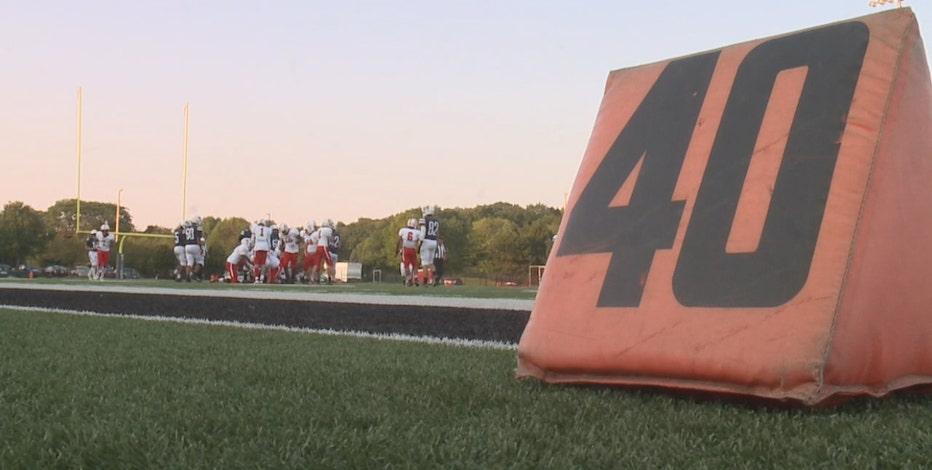 COVID cancels high school football games, precautions taken
