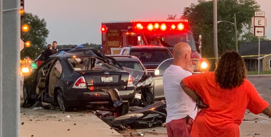 76th and Silver Spring drag racing crash, 2 dead