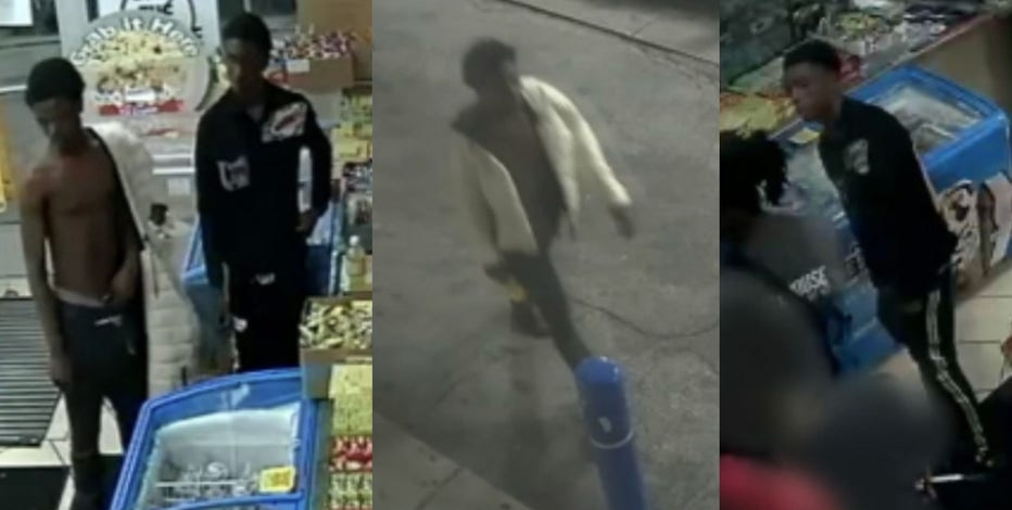 Suspects wanted in North Avenue shooting