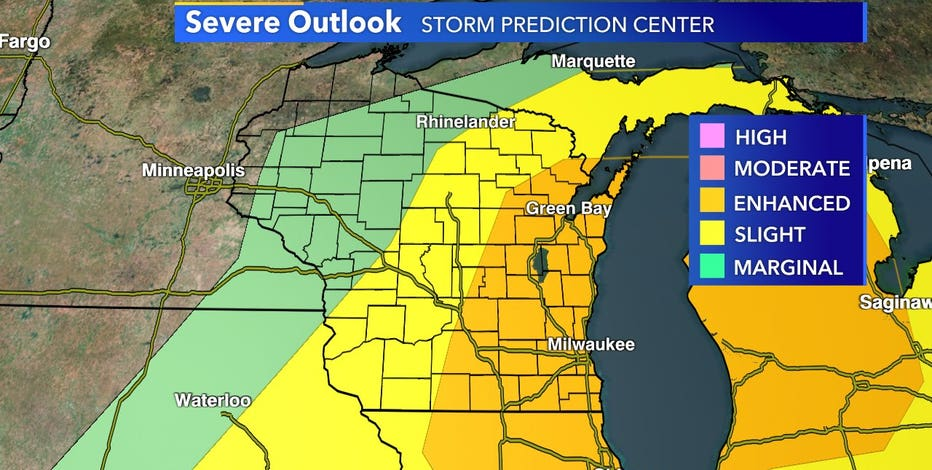 Excessive heat followed by severe storms expected Wednesday
