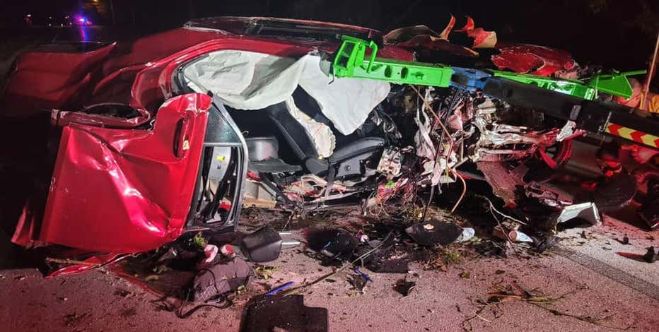 Serious crash in Caledonia leaves driver nearly unscathed