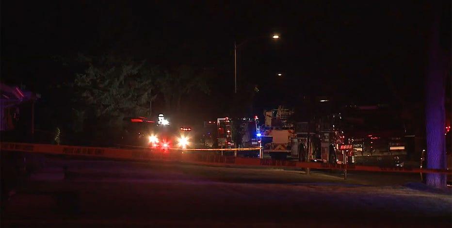 37th & Helena fire, Milwaukee man seriously injured
