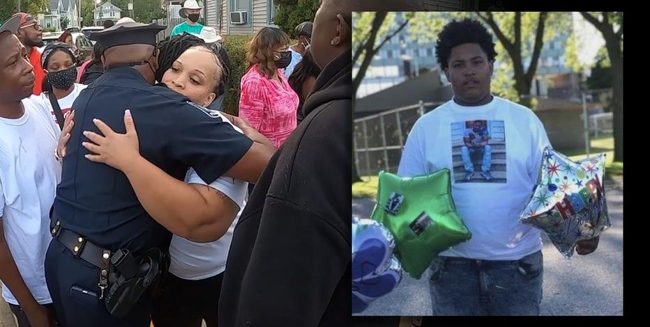 Vigil for Racine teen killed walking home from football game