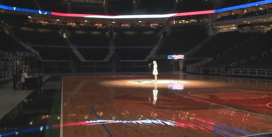 Bucks hold national anthem auditions