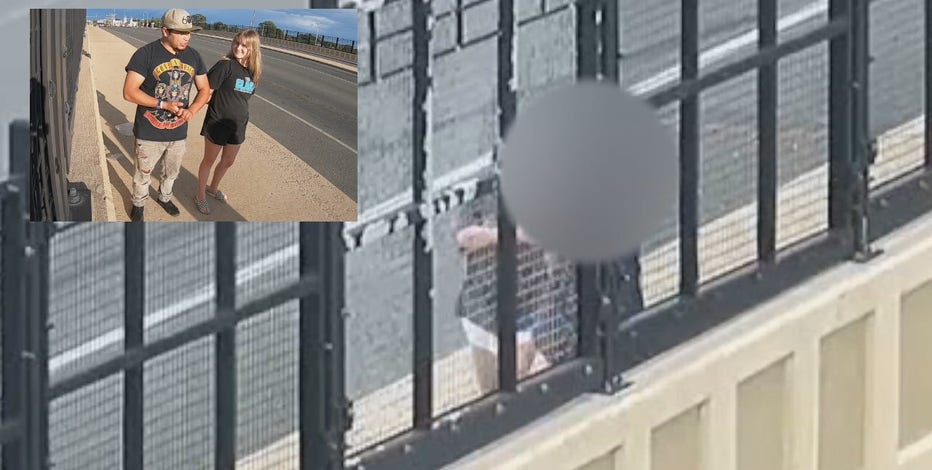 Man on I-94 Layton Avenue Bridge talked down by siblings