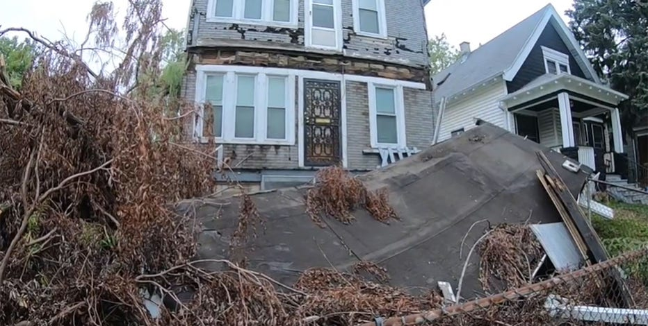 Milwaukee family without gas, August storm damage causing problem