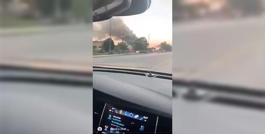 Hartford Culver's fire, multiple departments respond