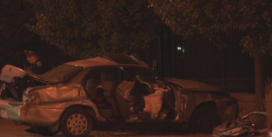 35th and Wisconsin fatal crash: 1 dead