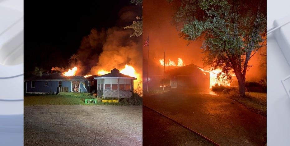 Village of Raymond house fire, cause under investigation