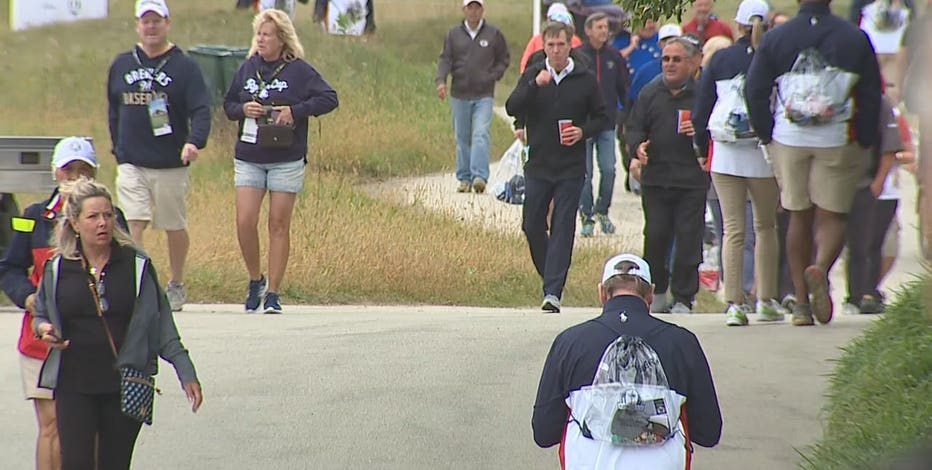 Whistling Straits Ryder Cup practice, fans explore course on 1st day