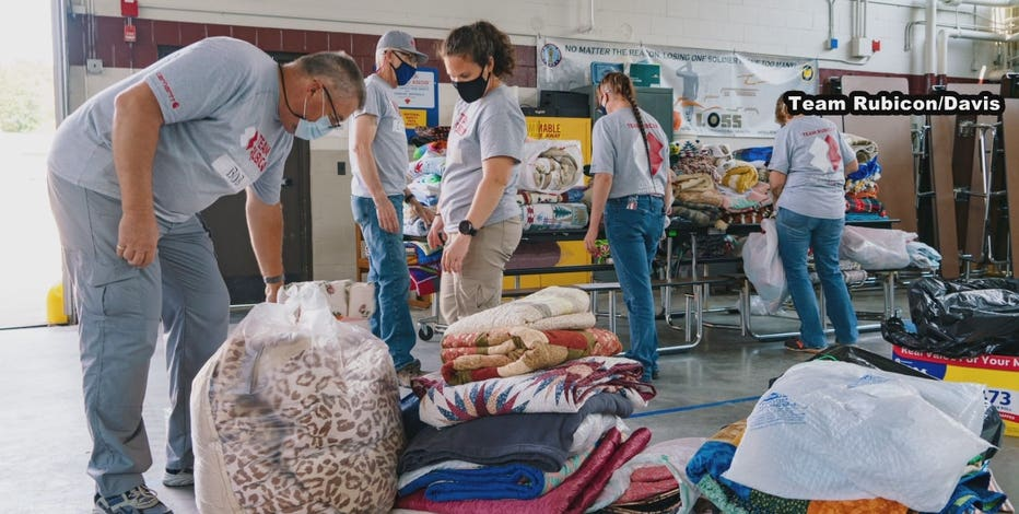 Team Rubicon Afghan refugee donations at Fort McCoy