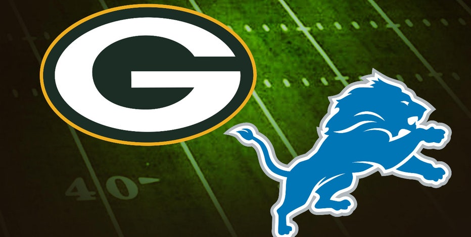 Packers tackle Lions at Lambeau Field on Monday Night Football