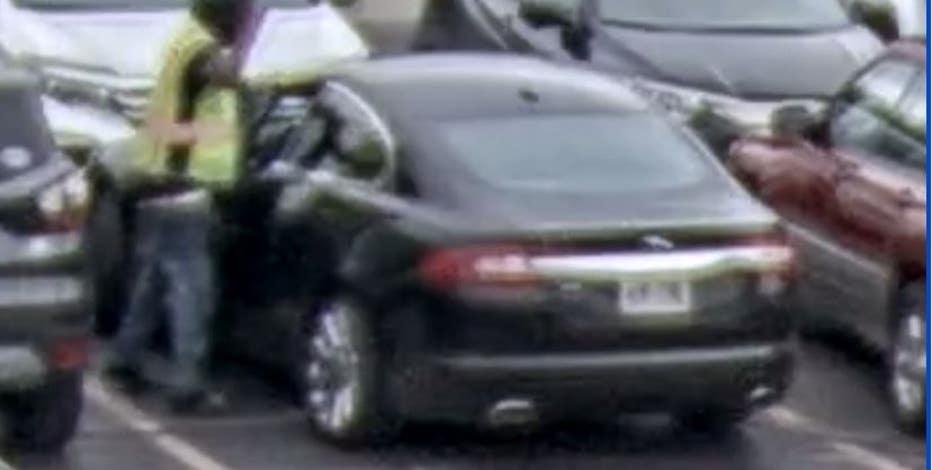 Brookfield East vehicle break-in, theft, male sought
