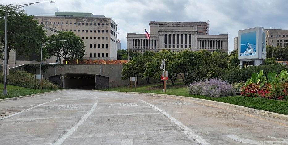 Kilbourn Avenue Tunnels reopen in Milwaukee: DOT