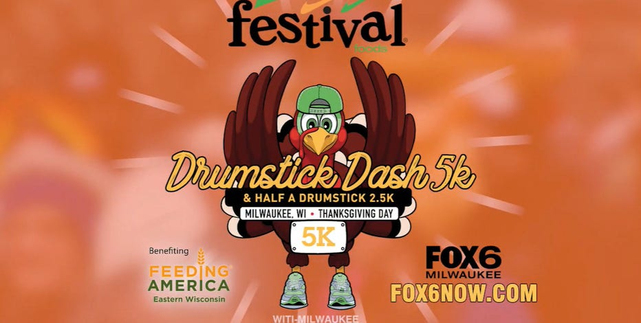 10th annual Drumstick Dash registration now open; join FOX6!
