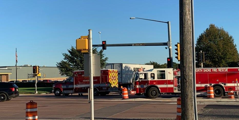Crash on Brown Deer Road, medical examiner called to the scene