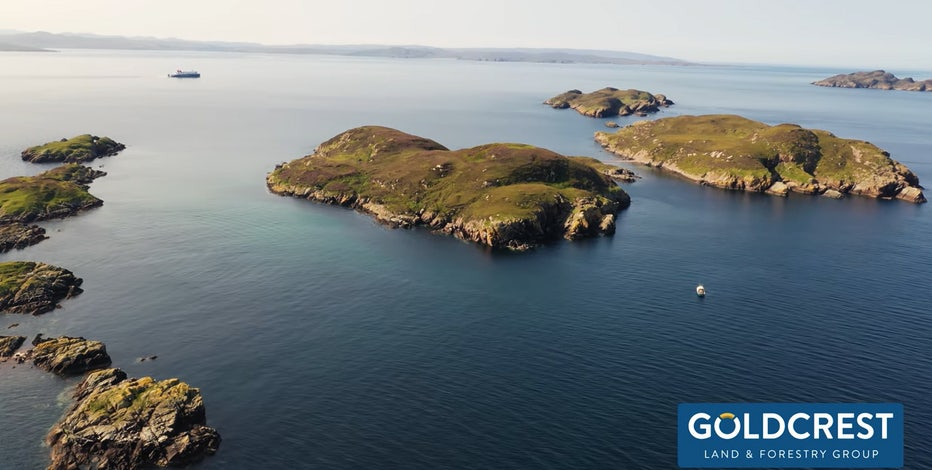 Uninhabited private island in Scotland up for sale at $70K