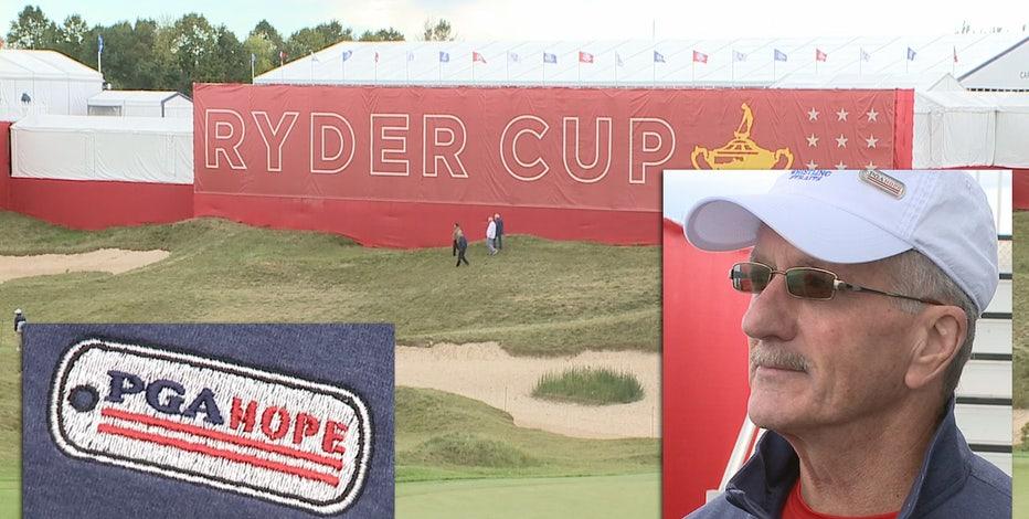PGA HOPE program honors veterans at Ryder Cup: 'Pretty emotional'