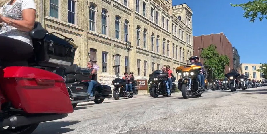 Motorcycle ride honors veterans, gives back to Fisher House