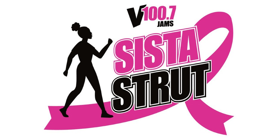 Join the V100.7 Sista Strut to defeat breast cancer