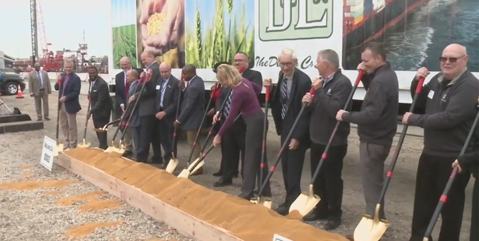 Milwaukee agricultural export facility breaks ground