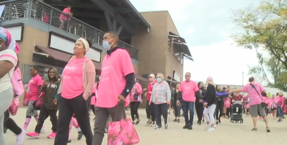 'Making Strides' raises breast cancer awareness at lakefront